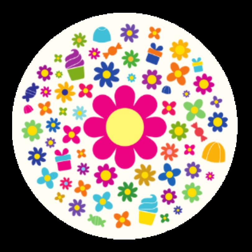 Girls birthday balloon Arrangement